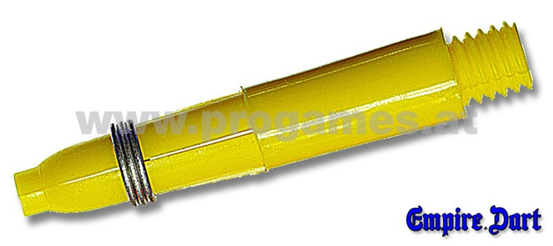 22L674 - Schaft-Set Empire Kunststoff kurz Gelb