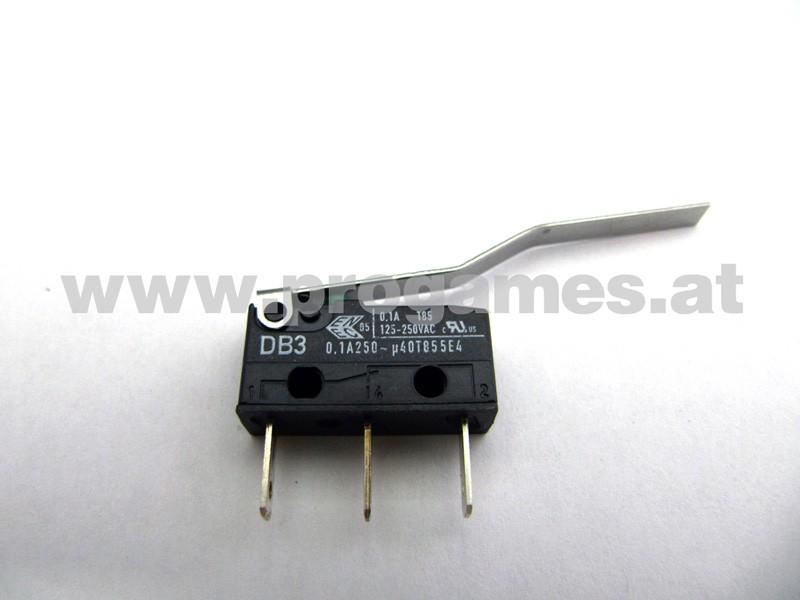 180-5197-00  Micro Switch 5/8  / 2x Bend Flat Blade für Stern Flipper
