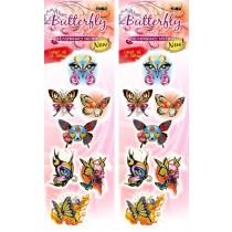 Sticker 300 Stück ''TT-231 Butterfly'' für Tattoo X2 Station