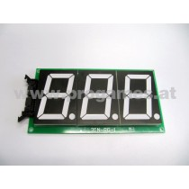 3 Digitals Led Board für Street Basketball Gerät