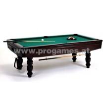 Leonhart Billardtisch TXL 8 ft Classic Pool - Echtholz Eiche mahagoni geb.