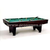 Leonhart Billardtisch TXL 8 ft Professional Pool Echtholz Eiche mahagoni gebeiz