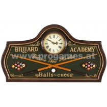 Holzbild  '' Billard Academy ''