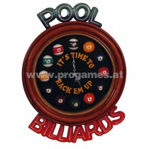 Billarduhr '' Pool Billards ''