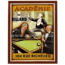 Billardbild '' Academie de Billard   ''