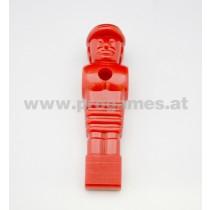 Figur aus Kunststoff '' Soccer '' für Leonhart Fussballtisch rot