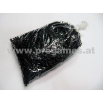 Dartspitzen W-Point 1/4 lang  Farbe schwarz 1000 Stk Pg.
