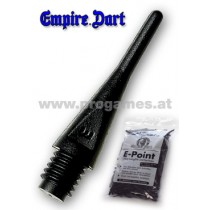 20L683 - Dartspitzen E-Point TYPE 2BA  schwarz - 100 Stück Packung