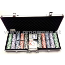 35L004 - Chipkoffer Collection Straight XXL mit 500 Las Vegas Chips