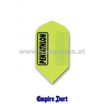 25L907 - Fligth Set Polyester Pentatlon Slim Farbe Gelb