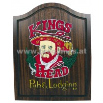 Kings Head Farbiges Cabinet