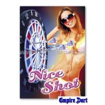 22L231 - Poster '' Nice Shot ''
