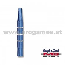 29L051 - Schaft-Set M3 Aluminium kurz Blau