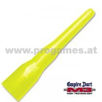 29L158 - M3 Dart-Spitzen neongelb lang (1.000 Stück)