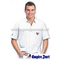 28L046 - Empire Dart Weltmeister Hemd weiß Größe L