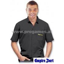 28L095 - Empire Dart Weltmeister Hemd schwarz Größe L