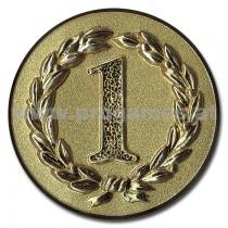 11L919 - Pokal-Reliefemblem ''Erster'' Gold