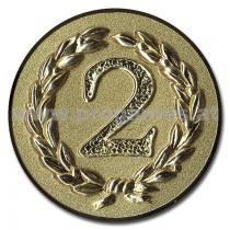 11L920 - Pokal-Reliefemblem ''Zweiter'' Gold