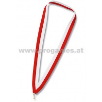 11L707 - Halsband rot/weiss