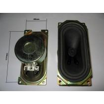 Lautsprecher Anti Magnetic Oval