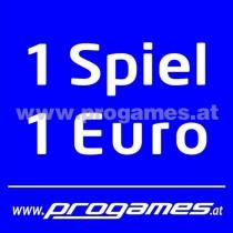 Aufkleber 1 Spiel 1,- Euro