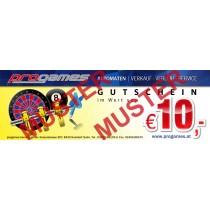 10,- Euro Gutschein