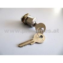 Zylinderschloss 2 Schlüssel WUZ - für Wurlitzer -0013729 (0020560003)
