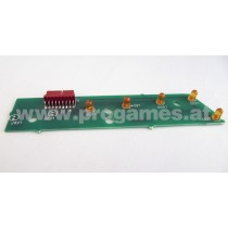 A-18617 Led 7 Ball Trough Assy 5768-14121-02