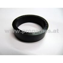 Flippergummi Flachring schwarz breit 23-6695