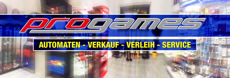 progames: Automaten - Verkauf - Verleih - Service